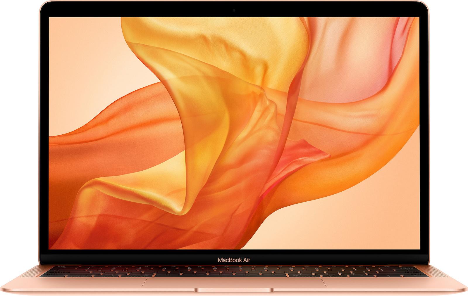 Apple MacBook Air MREF2 13.3'' 1.6GHz i5/8GB/256GB Retina 2018 Gold English Keyboard Με Αντάπτορα Πληρωμή έως 24 δόσεις